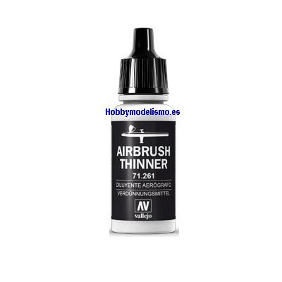 DILUYENTE AEROGRAFIA (17 ml)