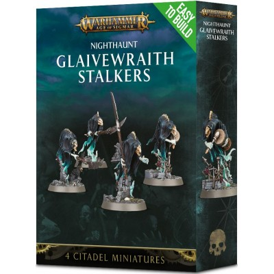 NIGHTHAUNT GLAIVEWRAITH STALKER EASY TO BUILD - GAMES WORKSHOP 71-10