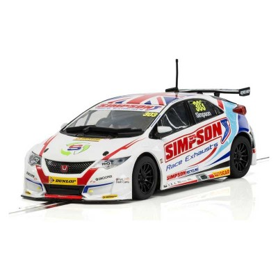 HONDA CIVIC TYPE R BTCC 2017 Nº303 MATT SIMPSON - SUPERSLOT H3915