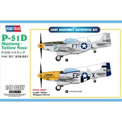 NORTH AMERICAN P-51 D MUSTANG -1/48- Hobby Boss 85808