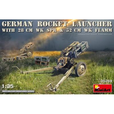 LANZA COHETES ALEMAN VK Spr -280 MM- & WK Spr 320 mm 1/35 - MiniArt 35269