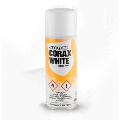 SPRAY IMPRIMACION ACRILICO CORAX WHITE (400 ml) GAMES WORKSHOP 62-28