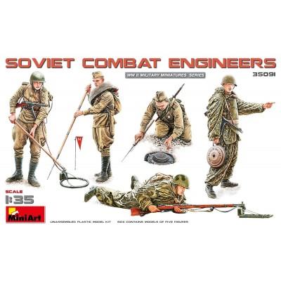 INGENIEROS DE COMBATE SOVIETICOS 1/35 - MiniArt 35091