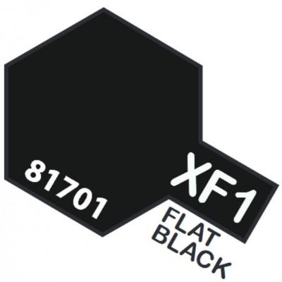 PINTURA ACRILICA NEGRO MATE XF-1 (10 ml)