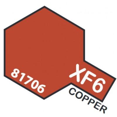 PINTURA ACRILICA COBRE METALIZADO MATE XF-6 (10 ml)