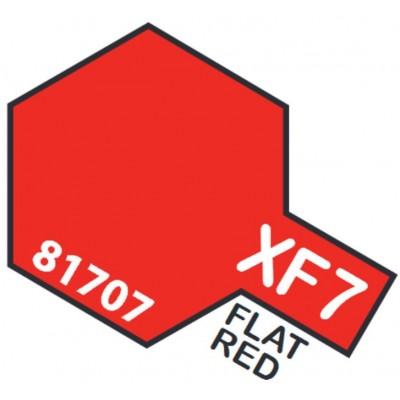 PINTURA ACRILICA ROJO MATE XF-7 (10 ml)