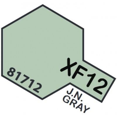 PINTURA ACRILICA GRIS MARINA JAPONESA MATE XF-12 (10 ml)