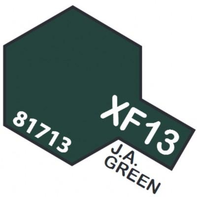 PINTURA ACRILICA VERDE EJERCITO JAPONES MATE XF-13 (10 ml)