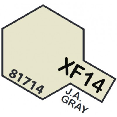 PINTURA ACRILICA GRIS EJERCITO JAPONES MATE XF-14 (10 ml)