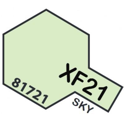 PINTURA ACRILICA CIELO TIPO S MATE XF-21 (10 ml)