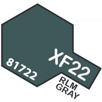 PINTURA ACRILICA GRIS RLM MATE XF-22 (10 ml)