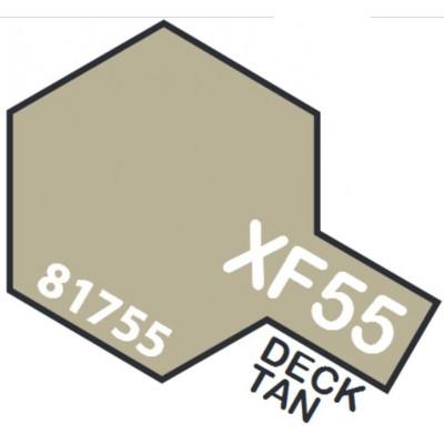 PINTURA ACRILICA MARRON CUBIERTA MATE XF-55 (10 ml)