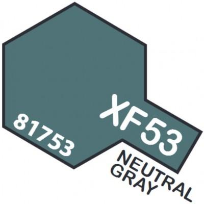 PINTURA ACRILICA GRIS NEUTRAL MATE XF-53 (10 ml)