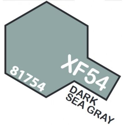 PINTURA ACRILICA GRIS MARINO OSCURO MATE XF-54 (10 ml)