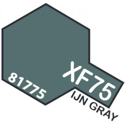 PINTURA ACRILICA GRIS IJN MATE XF-75 (10 ml)