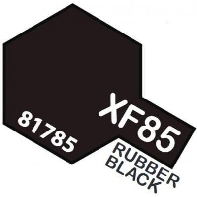 PINTURA ACRILICA NEGRO NEUMATICO XF-85 (10 ml)