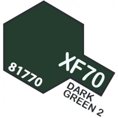 PINTURA ACRILICA VERDE OSCURO XF-70 (10 ml)