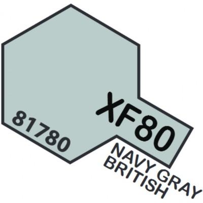 PINTURA ACRILICA GRIS CLARO REAL MATE XF-80 (10 ml)