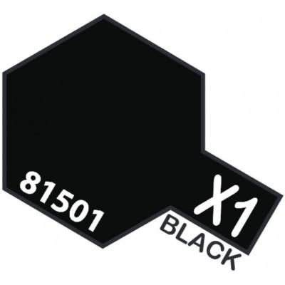 PINTURA ACRILICA NEGRO BRILLANTE X-1 (10 ml)