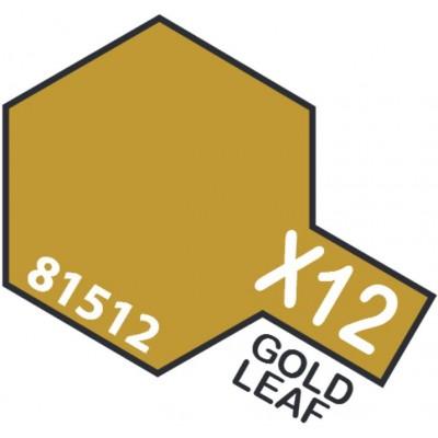 PINTURA ACRILICA ORO BRILLANTE X-12 (10 ml)