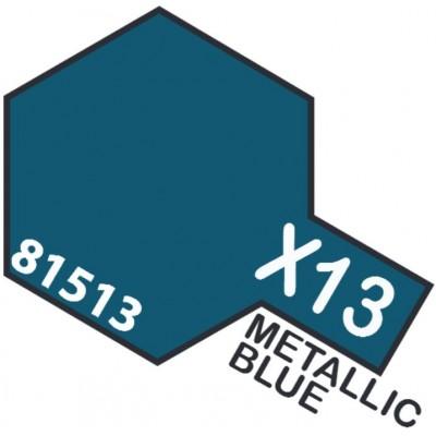 PINTURA ACRILICA AZUL METALIZADO BRILLANTE X-13 (10 ml)