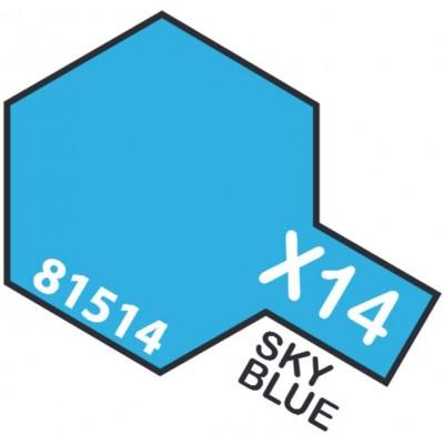PINTURA ACRILICA AZUL CIELO BRILLANTE X-14 (10 ml)