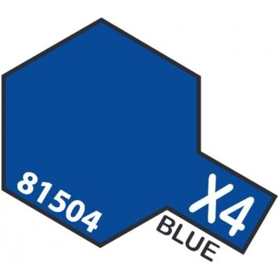 PINTURA ACRILICA AZUL BRILLANTE X-4 (10 ml)