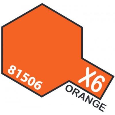 PINTURA ACRILICA NARANJA BRILLANTE X-6 (10 ml)