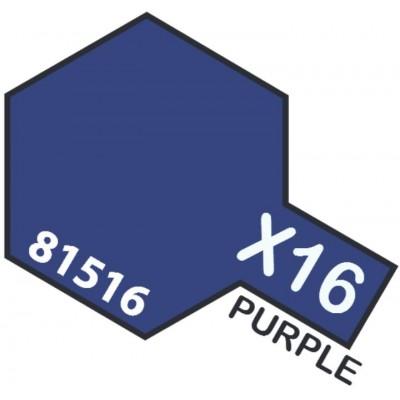 PINTURA ACRILICA PURPURA BRILLANTE X-16 (10 ml)