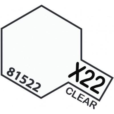 PINTURA ACRILICA BARNIZ BRILLANTE X-22 (10 ml)