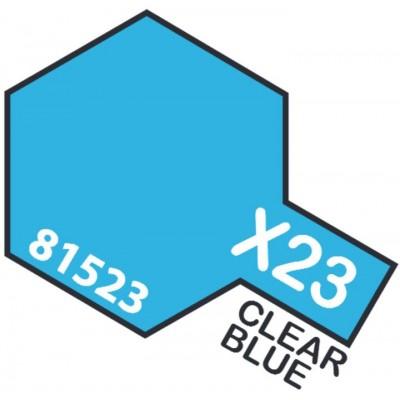 PINTURA ACRILICA AZUL TRANSPARENTE X-23 (10 ml)