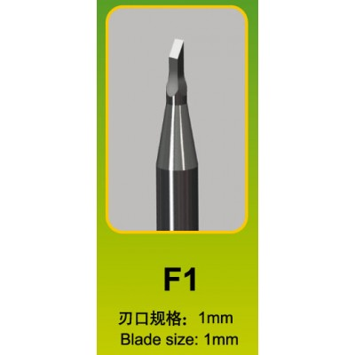 FORMON PARA MODELISMO F1 (1 x 1 mm) - Trumpeter Master Tools 09923