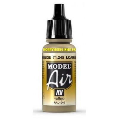 PINTURA ACRILICA LEHMBEIGE (17 ml) -Acrylicos Vallejo 71245