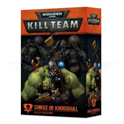 KILL TEAM CHIKOZ DE KROGSKULL - GAMES WORKSHOP 102-22