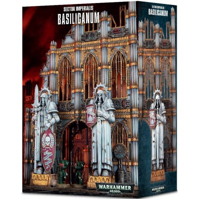 SECTOR IMPERIALIS BASILICANUM - GAMES WORKSHOP 64-48