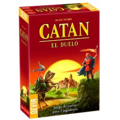 CATAN EL DUELO - JUEGO DE CARTAS PARA 2 JUGADORES