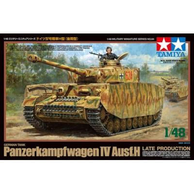 CARRO DE COMBATE Sd. Kfz. 161 PANZER IV Ausf. H -Late- 1/48 - Tamiya 32584