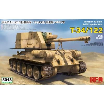 OBUS AUTOPROPULSADO T-34/122 1/35 - Rye Field Models RM5013