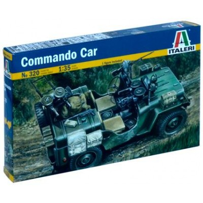 JEEP SAS COMMANDO CAR
