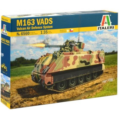 M163 VADS (VULCAN AIR DEFENSE SYSTEM) ESCALA 1/35 - ITALERI 6560