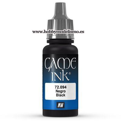 TINTA NEGRA (17 ml)
