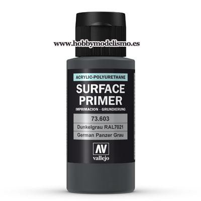 SURFACE PRIMER: GRIS PANZER RAL 7021 (60 ml)