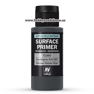 SURFACE PRIMER: GRIS PANZER RAL 7021 (60 ml)