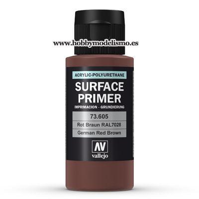 SURFACE PRIMER: ROTBRAUN RAL 8012 (60 ml)