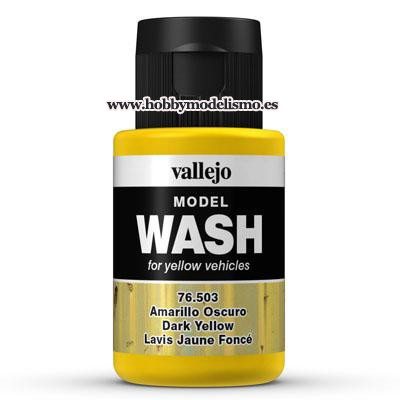 MODEL WASH (35 ml) AMARILLO OSCURO - Vallejo 76503