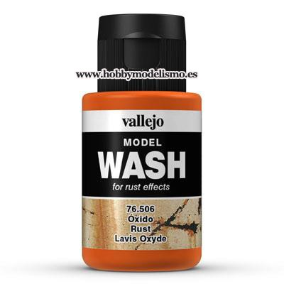 MODEL WASH (35 ml) OXIDO - Vallejo 76506