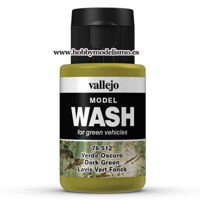 MODEL WASH (35 ml) VERDE OSCURO - Vallejo 76512