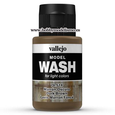 MODEL WASH (35 ml) MARRON OSCURO - Vallejo 76514