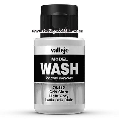 MODEL WASH (35 ml) GRIS CLARO - Vallejo 76515