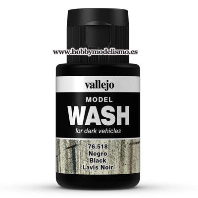 MODEL WASH (35 ml) NEGRO - Vallejo 76518